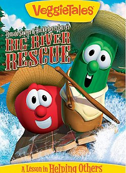 VeggieTales: Tomato Sawyer & Huckleberry Larry's Big River Rescue