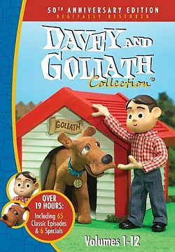 Davey & Goliath: 50th Anniversary Edition Volumes 1-12 - 12 Disc Boxed Set