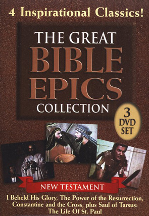 Great Bible Epics Collection: 4 Stories - (3 DVD Set)
