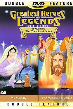 Greatest Heroes and Legends: The Nativity/The Miracles of Jesus Double Feature