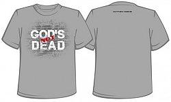 God's Not Dead: Women's (Grey, Large - Missy Cut) - T-Shirt
