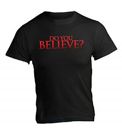 Do You Believe?: (Black, Small) - T-Shirt
