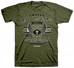 Awaken the Warrior: (Large) - T-Shirt