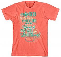 Ask God: (Ladies, Medium) - T-Shirt