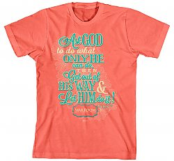 Ask God: (Ladies, Large) - T-Shirt