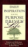 Daily Inspirations for the Purpose Driven Life - Book