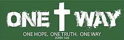 Woodlawn: One Way - Bumper Sticker