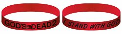 Gods Not Dead 2: Bracelet (Red)