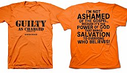 Gods Not Dead 2: Guilty As Charged (Orange, XL) - T-Shirt