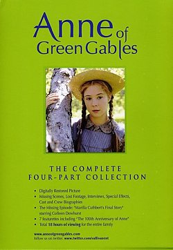 Anne of Green Gables: 4-part Collection