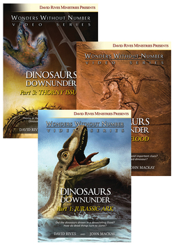 Dinosaurs Downunder: Trilogy