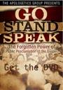 Go Stand Speak - DVD