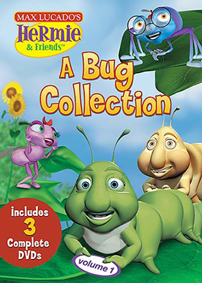 Max Lucado's Hermie & Friends: A Bug Collection Volume 1 - 3 Disc Set