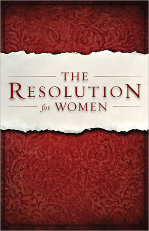 The Resolution for Women [from the movie COURAGEOUS]