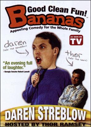 Bananas Comedy: Daren Streblow