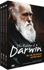 The Evolution Of Darwin: 3 Complete Boxed Collection - DVD
