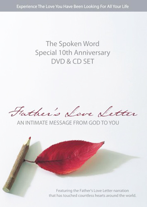 Father's Love Letter: The Spoken Word - Special Edition  and CD
