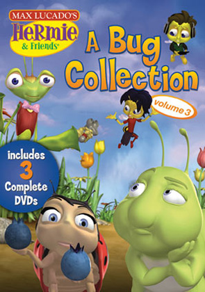 Max Lucado's Hermie & Friends: A Bug Collection Volume 3 - 3 Disc Set