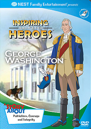Inspiring Animated Heroes: George Washington