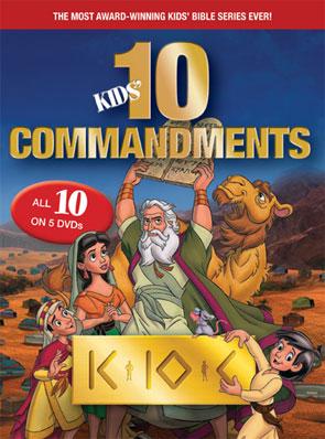 Kid's Ten Commandments