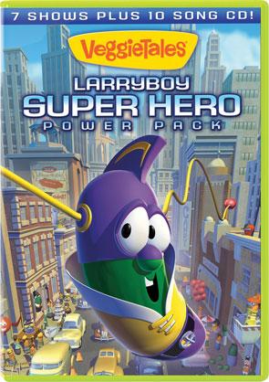 VeggieTales: LarryBoy Super Hero Power Pack - 3 Disc Set