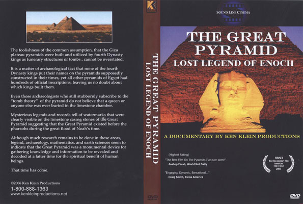 The Great Pyramid: Lost Legend Of Enoch DVD at Christian Cinema com