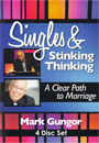Mark Gungor: Singles & Stinking Thinking: A Clear Path to Marriage  4 Disc Set - DVD