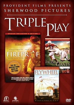 Triple Play: Fireproof / Facing the Giants / Flywheel 3-Disk Set