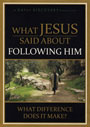 What Jesus Said About Following Him - DVD